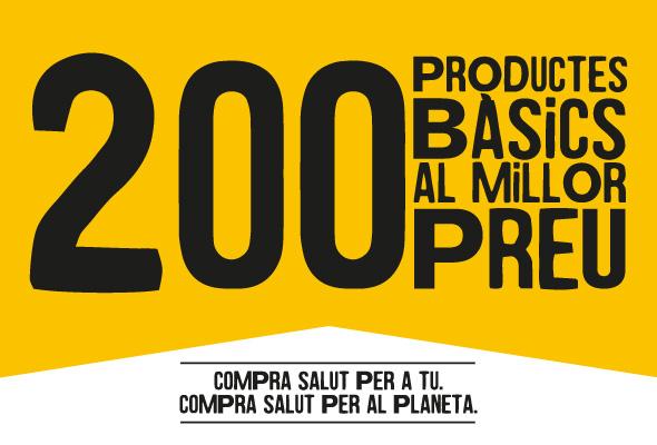 200 productes bàsics al millor preu - Veritas