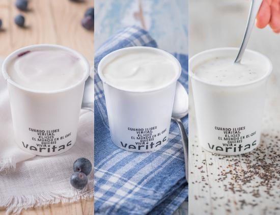 Yogures ecológicos, sostenibles y de kilómetro cero, elaborados con leche fresca de una granja de Cardedeu - Veritas
