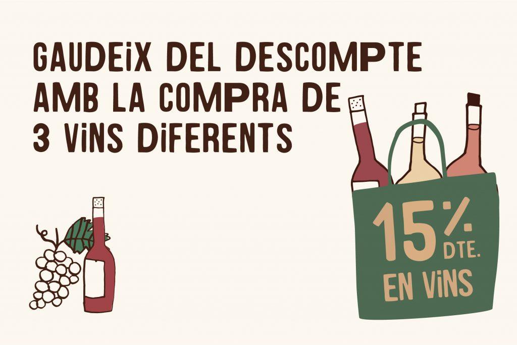 Sortegem 12 ampolles de vi ecològic! - Veritas