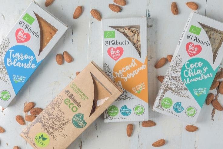 Turrones ecológicos elaborados sin azúcares refinados - Productos con corazón - Veritas