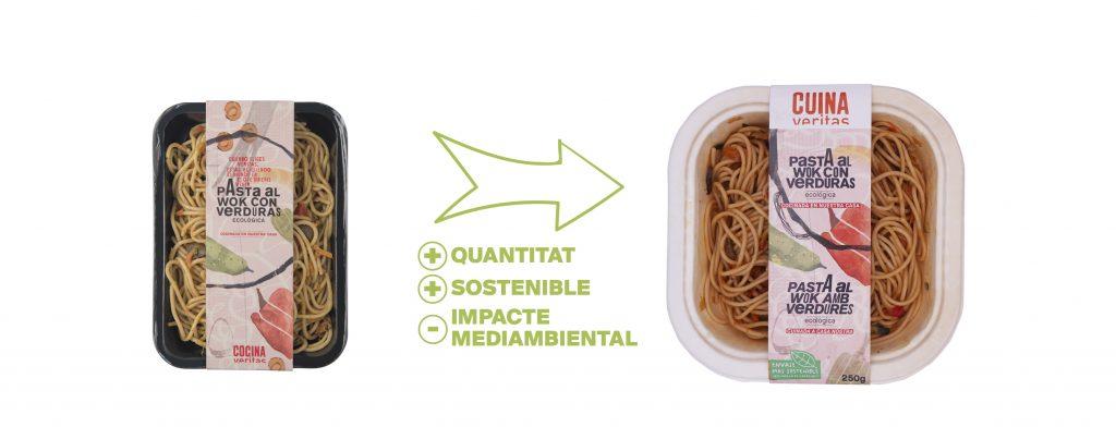 Nou packaging de la Cuina Veritas