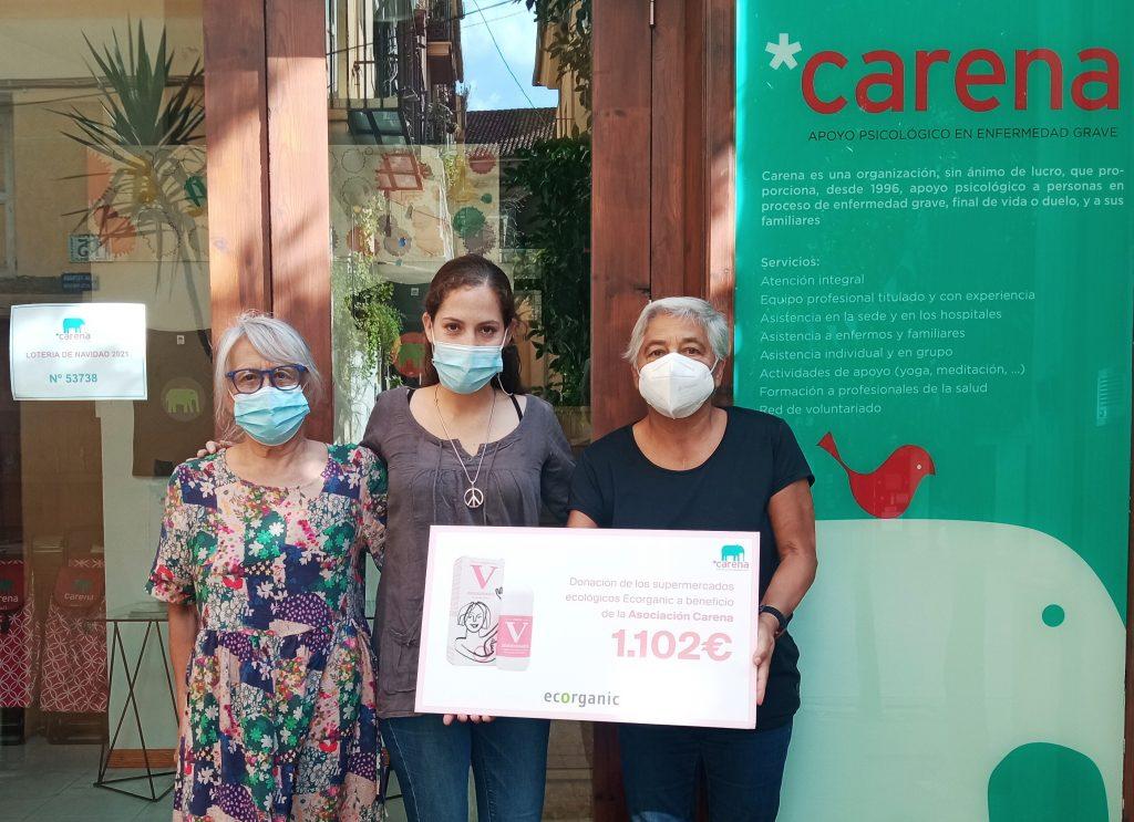 """Campanya """"Aixeca la Mà"""" - Donació a Associació Carena - Veritas"""