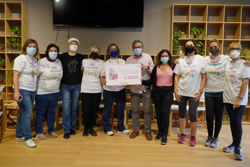 """Campanya """"Aixeca la Mà"""" - Donació a CMM - Veritas"""