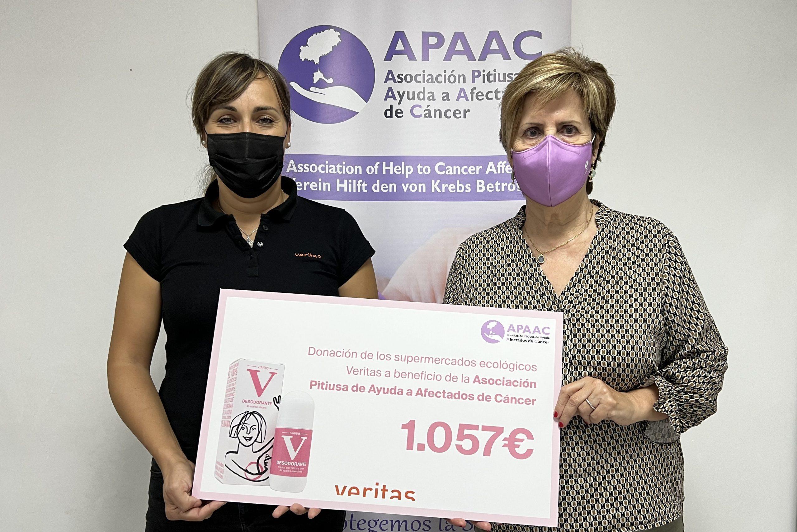 """Campanya """"Aixeca la Mà"""" - Donació a APAAC - Veritas"""