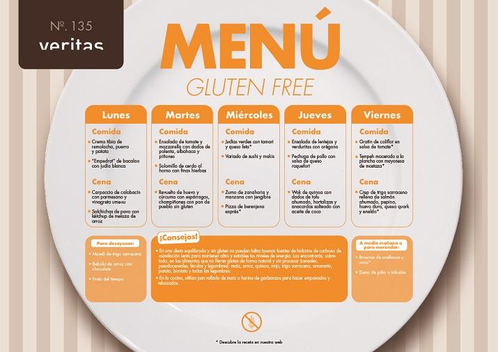 Gluten free - Menús - Veritas