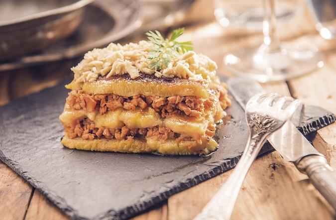 Lasanya vegana de plàtan a la bolonyesa - Veritas
