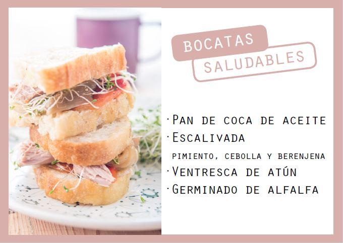 Pan de coca con escalibada y ventresca - Veritas