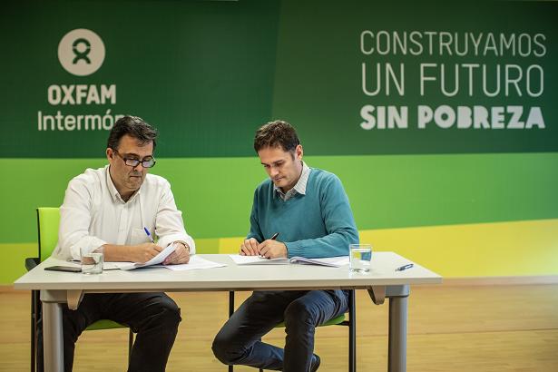 Aliança inèdita amb Oxfam Intermón - Ara a Veritas