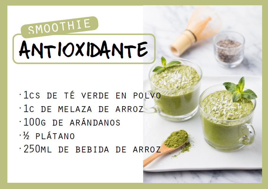 Smoothie antioxidante - Veritas