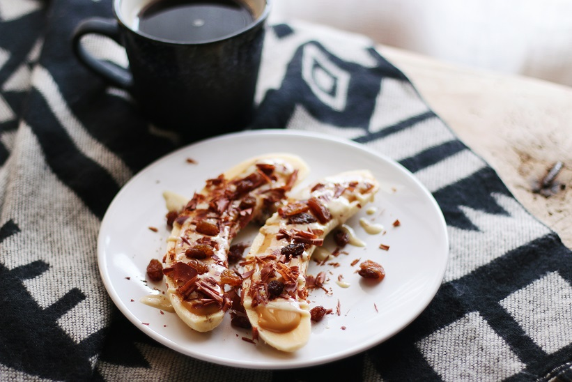 Barquitas de plátano - Recetas de postre - Veritas