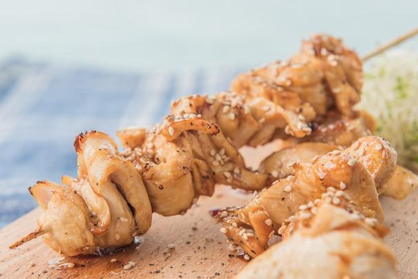 Menú low carb - Brochetas de pollo - Recetas Veritas