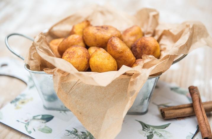 Buñuelos de calabaza - Veritas