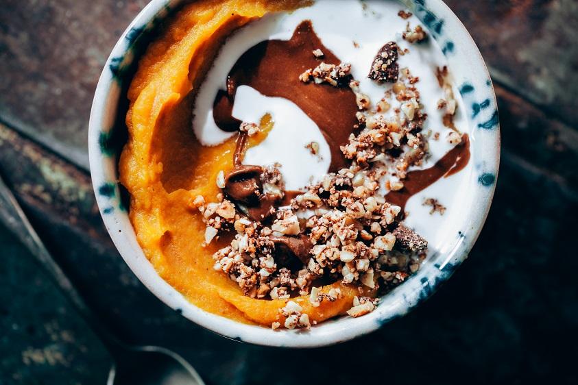 Crema dolça de moniato i poma - Receptes - Veritas