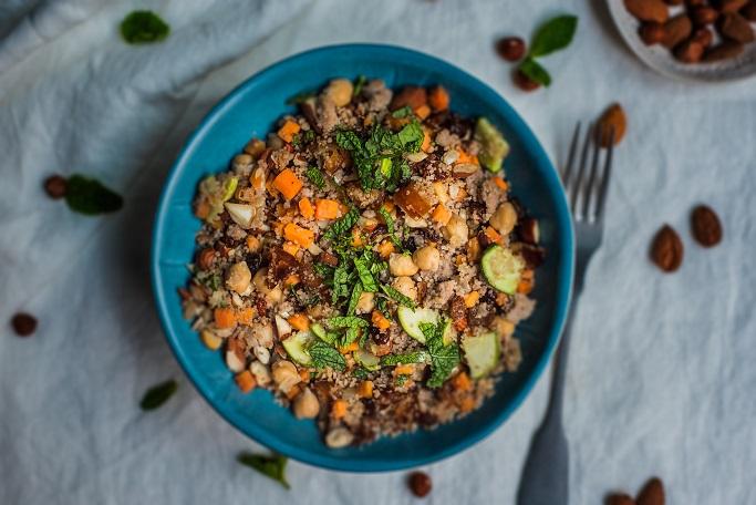 Cuscús de fajol amb moniato - Receptes - Veritas