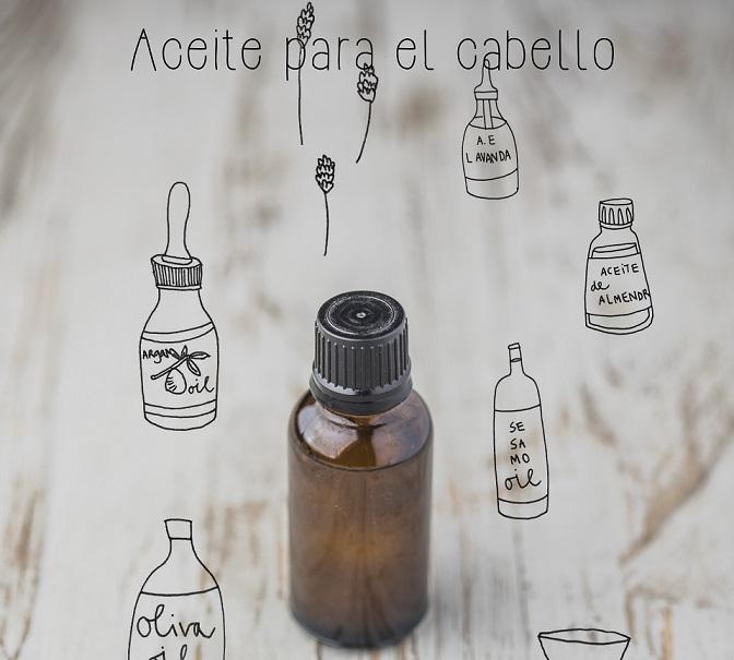 Aceite para el cabello - Cosmética casera - Veritas