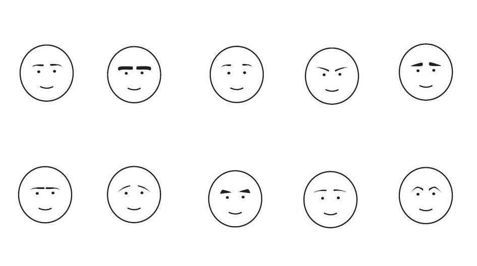 Descubre qué dicen las cejas de tu personalidad - Veritas