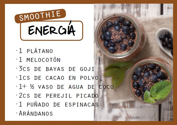 Smoothie energético - Veritas