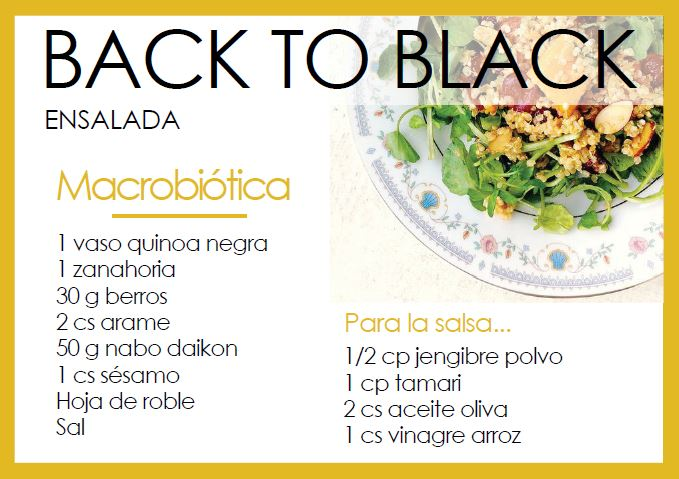 Ensalada back to black - Veritas