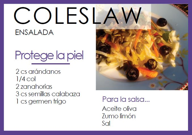 Ensalada coleslaw - Veritas