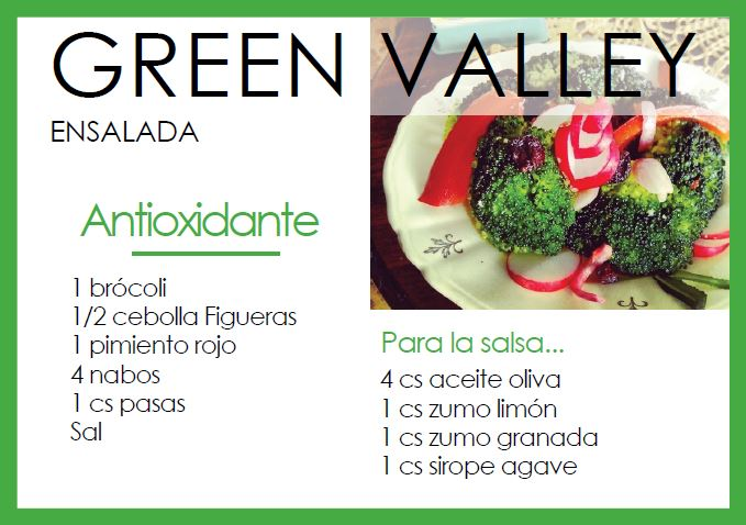 Ensalada green valley - Veritas