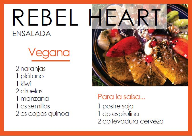Ensalada rebel heart - Veritas