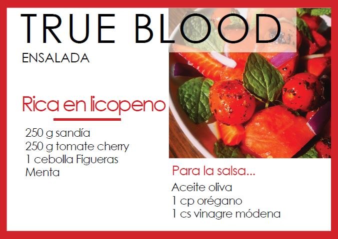 Ensalada true blood - Veritas