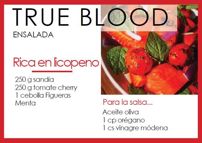 Ensalada true blood - Veritas