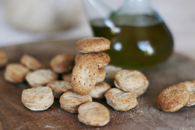 Galetes d'oli rústiques - Receptes - Veritas