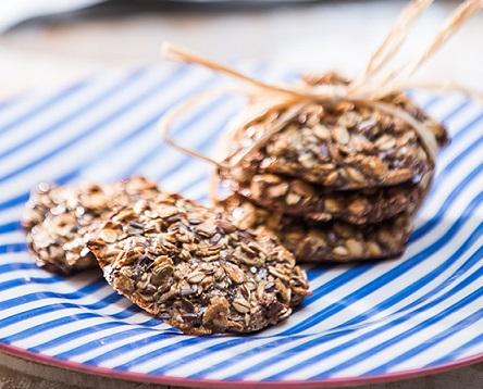 Galetes de cereals amb sèsam - Veritas