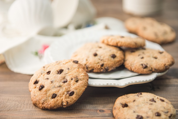 Galletas sin gluten con gotas de chocolate - Veritas