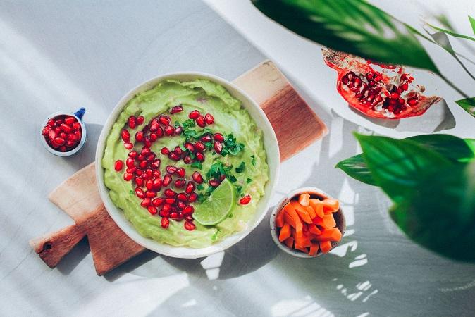 Guacamole amb magrana - Receptes - Veritas