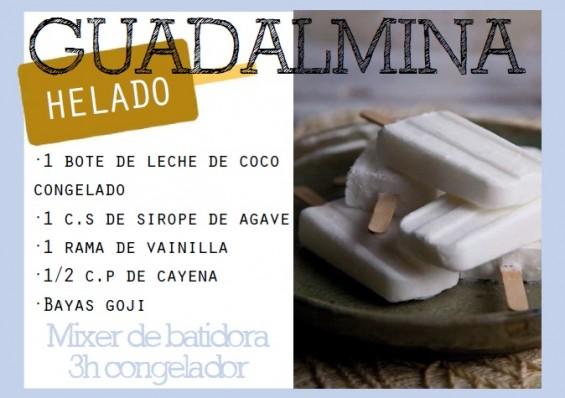 Helado Guadalmina - Me gusta comer sano