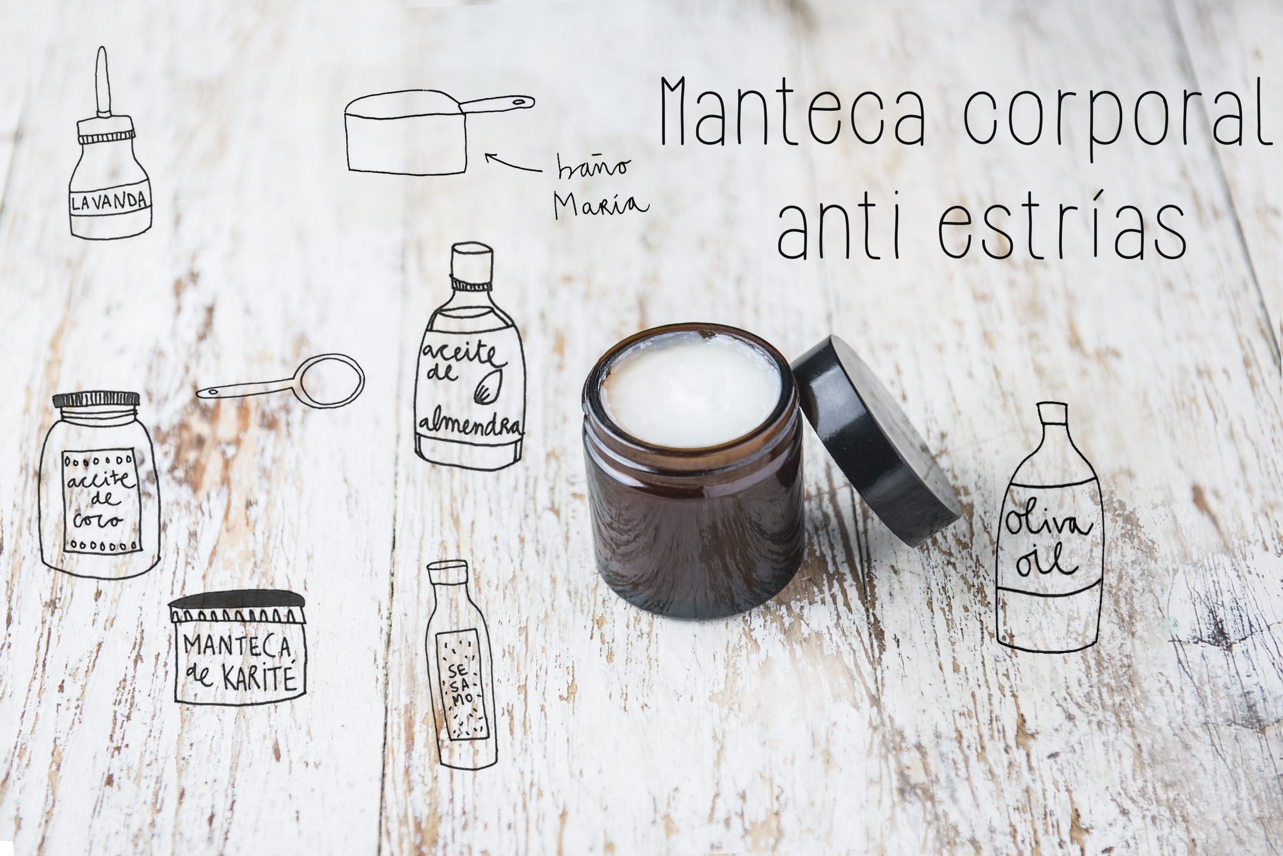 Mantega corporal antiestries - Cosmètica casolana - Veritas