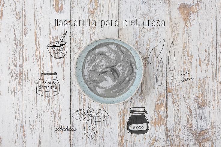 Mascareta per a la pell grassa - Cosmètica cassolana - Veritas
