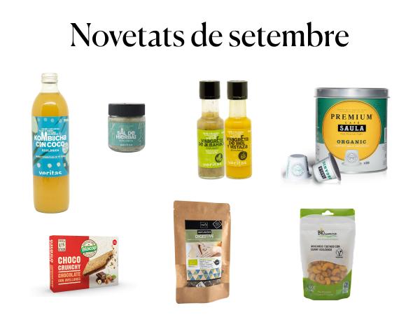 Sal d'herbes i vinagretes - Novetats de setembre - Veritas