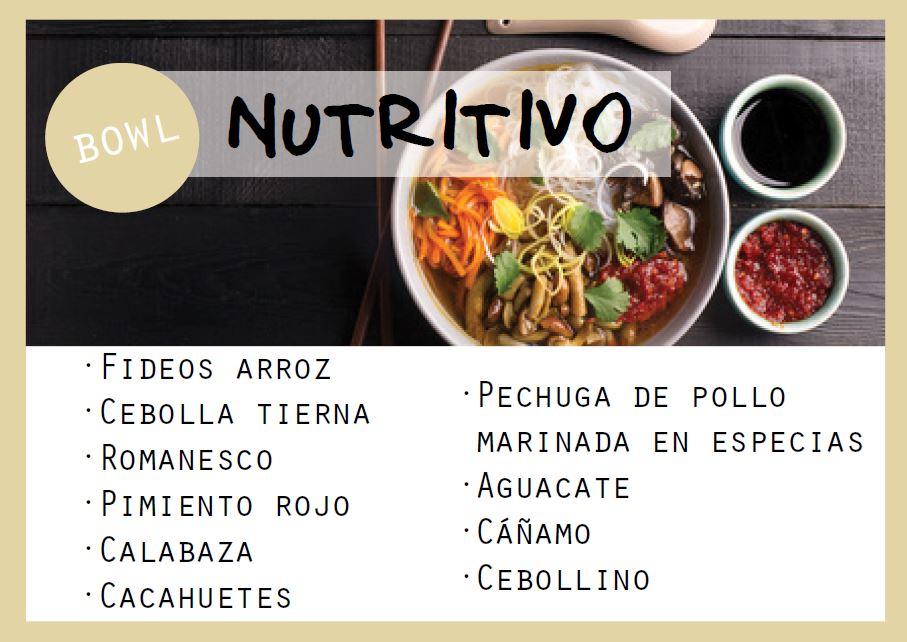 Bowl súper nutritivo - Veritas