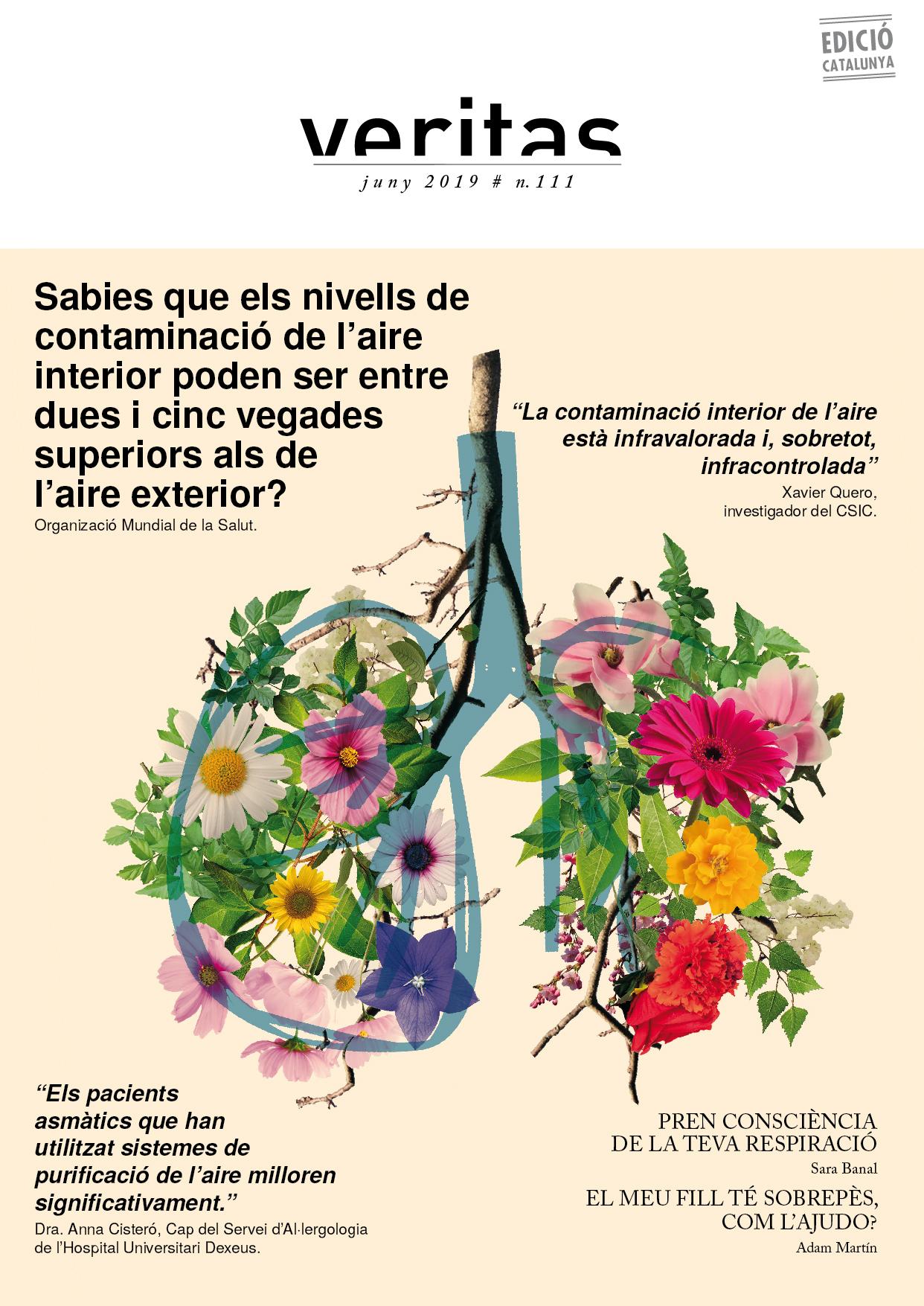 Portada revista juny, 2011 - Veritas