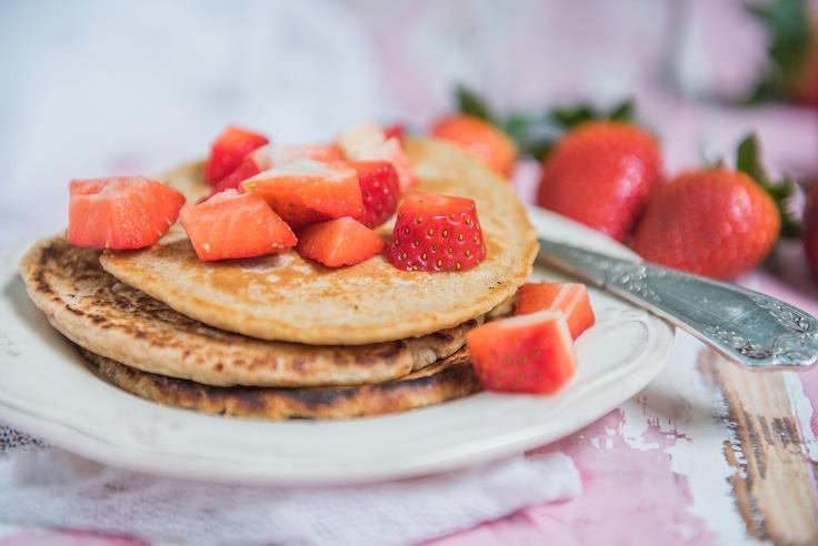 Pancakes veganos - Veritas