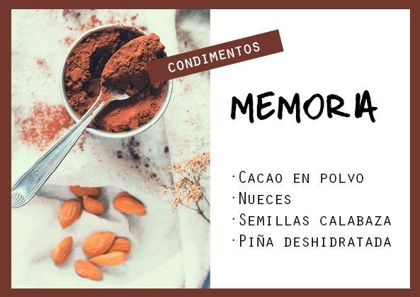 Condimento para la memoria - Veritas