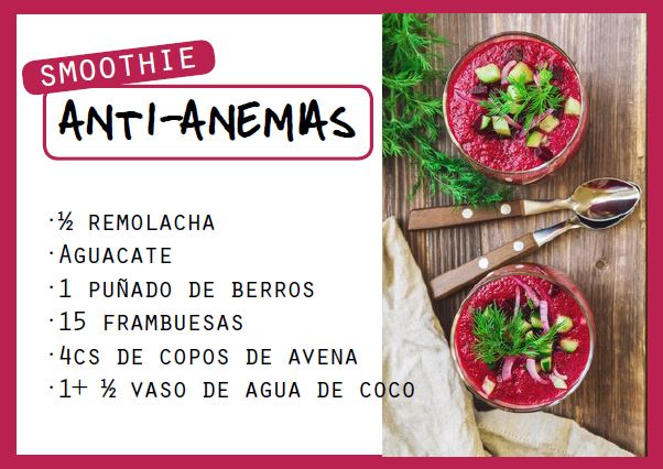 Smoothie anti-anemias - Veritas