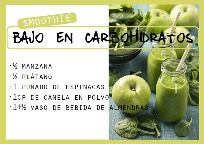 Smoothie bajo en carbohidratos - Veritas