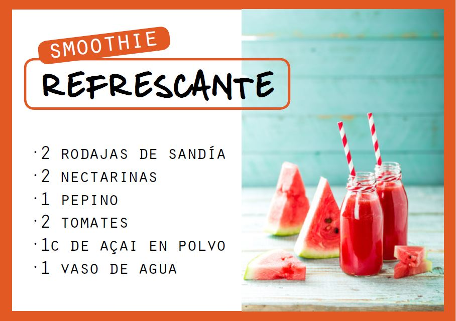 Smoothie refrescante - Veritas
