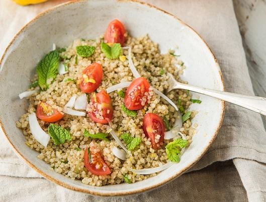 Tabulé de quinoa - Recetas - Veritas