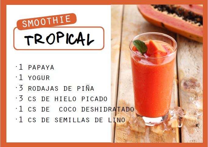 Smoothie tropical - Veritas