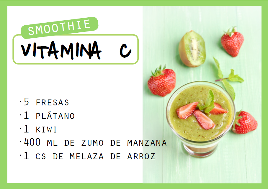 Smoothie ric en vitamina C - Veritas